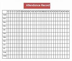 Attendance Sheet Template Pdf Free 18 Attendance Sheet Templates In Pdf Ms Word Excel