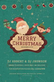 Christmas Poster Templates Free 28 Sample Christmas Poster Templates In Psd Eps Ai