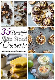 35 bite size dessert recipes for every occasion country