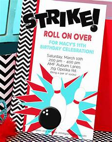 Free Printable Bowling Party Invitations For Kids Chandeliers Amp Pendant Lights