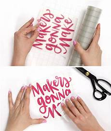 Transfer Apply How To Use Adhesive Vinyl A Beginner S Guide To Cutting