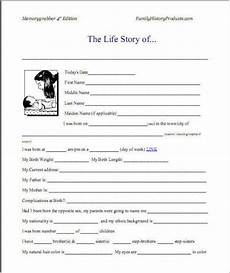 Autobiography Writing Template Sample Autobiography And Example Of Autobiography