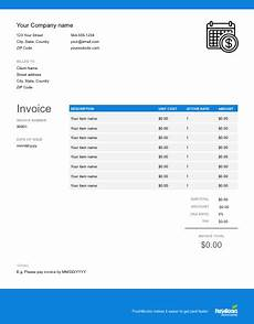 Net 30 Invoice Template Net 30 Invoice Template Free Download Send In Minutes