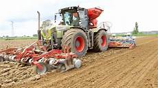Malvorlagen Claas Xerion Xl Claas X 233 Rion 3800 Corn Seeding