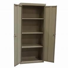sandusky used 72 inch storage cabinet putty national