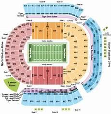 Tiger Stadium Seating Chart 3d Tiger Stadium Tickets In Baton Louisiana Tiger