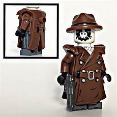 lego coats for minifigures custom lego minifigure of the week rorschach by