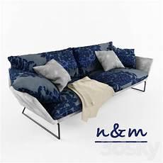 Blue Sofa 3d Image by 3d Models Sofa Sofa Blue
