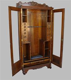 bargain s antiques antique oak gun cabinet