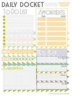 Daily To Do Checklist Daily To Do List Free Printables