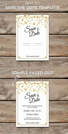Free Printable Save The Date Templates Free Modern Diy Save The Date Template Diy Save The