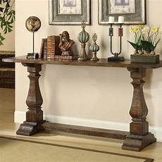 one allium way louise console table in brown reviews