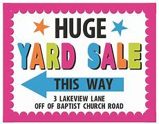 Sale Poster Ideas Church Yard Sale Flyer Free Download On Clipartmag