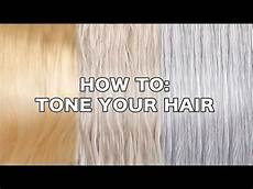 How To Tone Down Hair Color That Is Too Light How To Tone Hair By Tashaleelyn Youtube