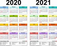 Year Calendar 2020 Printable Download 2020 2021 Printable Calendar Free Letter Templates