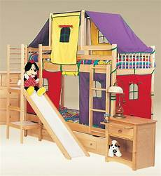build your own cool bunk beds with slides atzine