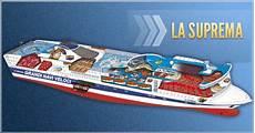 la suprema grandi navi veloci abb sale a bordo della nave la suprema automazione plus