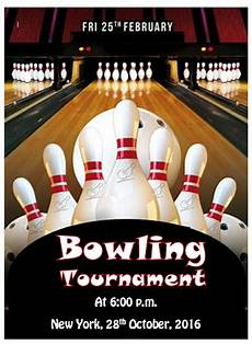 Bowling Flyer Bowling Game Flyer Templates Free Template Downloads