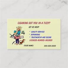 Names For Housekeeping Business Housekeeping Business Card Zazzle Com