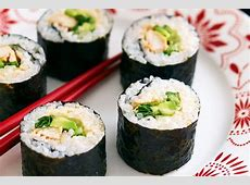 Sweet chilli chicken sushi