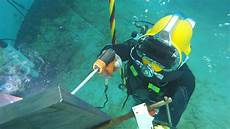 Underwater Welding Seabee Dive Detachment Hones Underwater Welding Skills