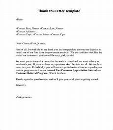Thank You Letter After Service Completed Sales Letter 9 Free Word Pdf Documents Download Free