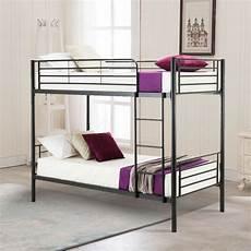 metal bunk bed frame with ladder for children