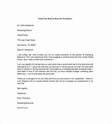 Thank You Notes To Boss For Gift Thank You Note To Boss 10 Free Word Excel Pdf Format