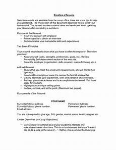 What Are Some Objectives For A Resumes 12 13 Resume Opening Statements Examples