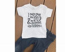 i only my bed and my momma i m sorry toddler raglan