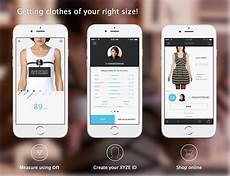 Track Body Measurements App On Smart Measuring Tape To Shop Fashion Online Indiegogo