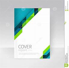 Word Cover Template Brochure Flyer Poster Annual Report Cover Template