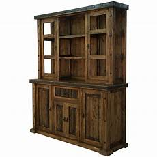 reclaimed wood china cabinet hutch western rustic real