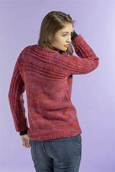 stricken pullunder free pattern friday siren sweater universal yarn