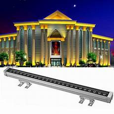 Outdoor Led Wash Lights Led Wall Wash Light Colorful Rgb High Power Line Ip65