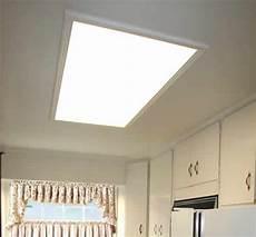 Converting Fluorescent Kitchen Lights Replace Kitchen Flourescent Light Box Update Old