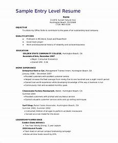 Entry Level Sales Resume Sample Free 8 Sample Sales Associate Resume Templates In Pdf