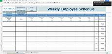 Employee Spreadsheets Free Work Schedule Templates For Google Spreadsheets Tanda