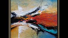 Acrylic Abstract Painting Abstract Acrylic Painting Demonstration Textured
