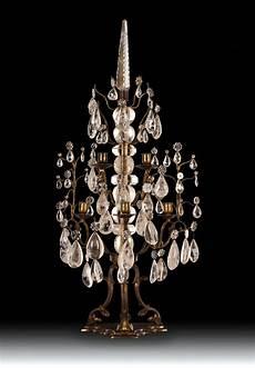 candelieri in cristallo coppia candelieri in bronzo dorato cristallo e cristallo