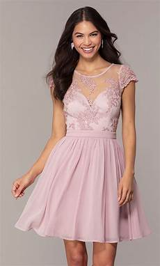 graduation dress with embroidery promgirl