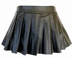 leather pleated mini skirt black free png images