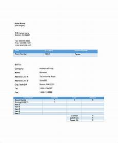 Accommodation Invoice Template Free 17 Hotel Invoice Examples Amp Samples In Google Docs