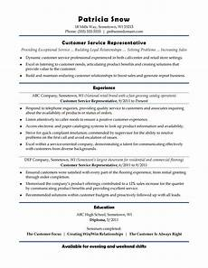 Resume Template Customer Service 30 Customer Service Resume Examples ᐅ Templatelab