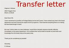 Job Transfer Letter From Employer Transfer Letters Samples Ask For Job New Confirmation
