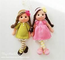 tonton doll and tilda bunny free pattern tığ