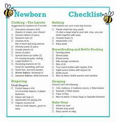 Baby Essential List Free 9 Newborn Checklist Samples In Google Docs Ms Word