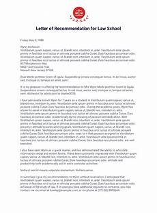 How To Write Law School Letter Of Recommendation Letter Of Recommendation For Student Pdf Templates Jotform