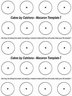 Printable French Macaron Template Cakes By Catriona Get French Macarons Piping Template