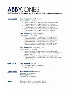 Examples Of Resume Layouts Modern Resume Layout Free Samples Examples Amp Format
